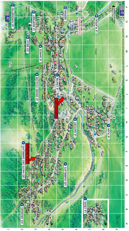 Vacaciones en montaña Résidence les Hameaux de la Vanoise - Pralognan-la-Vanoise - Plano