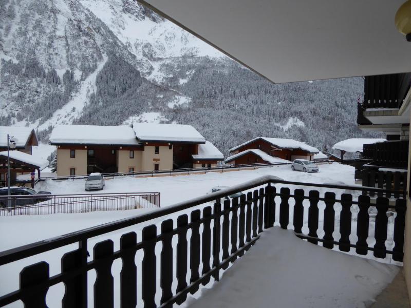 Vacaciones en montaña Apartamento 2 piezas para 4 personas (5C) - Résidence les Hameaux de la Vanoise - Pralognan-la-Vanoise - Balcón