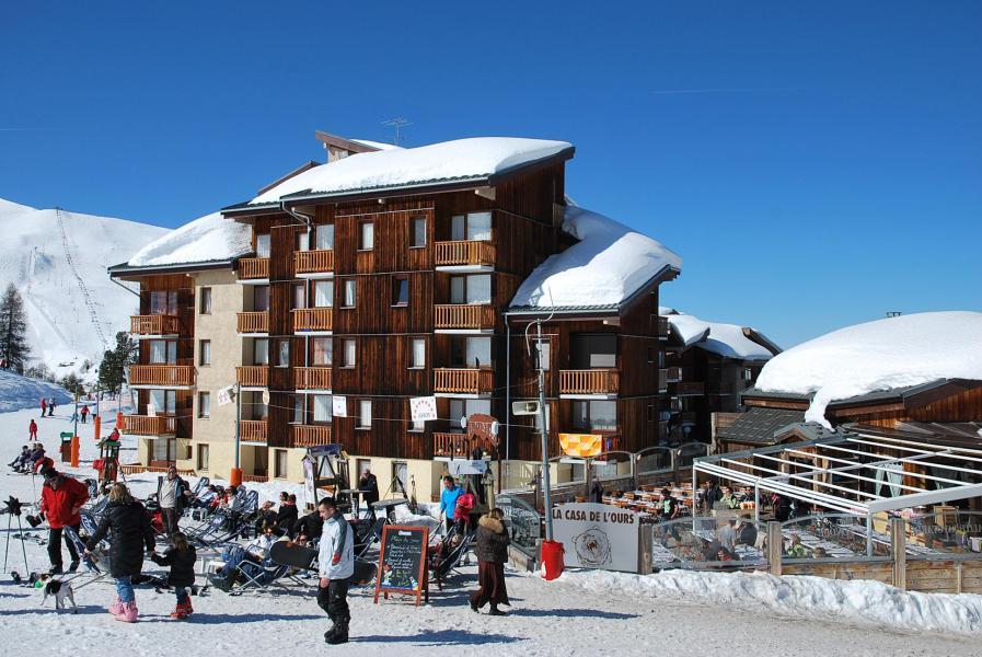 Vacances en montagne Appartement 2 pièces coin montagne 6 personnes (201-203) - Résidence les Hameaux I - La Plagne