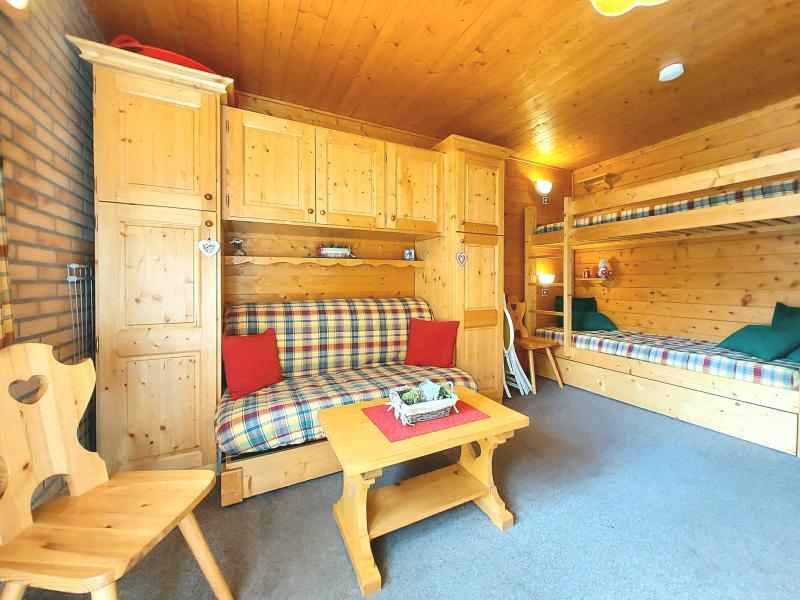 Vacances en montagne Studio 3 personnes (254) - Résidence les Hameaux I - La Plagne