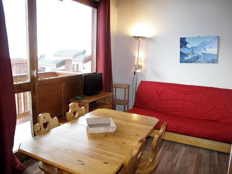 Vacances en montagne Appartement 3 pièces 6 personnes (438) - Résidence les Hameaux I - La Plagne - Séjour