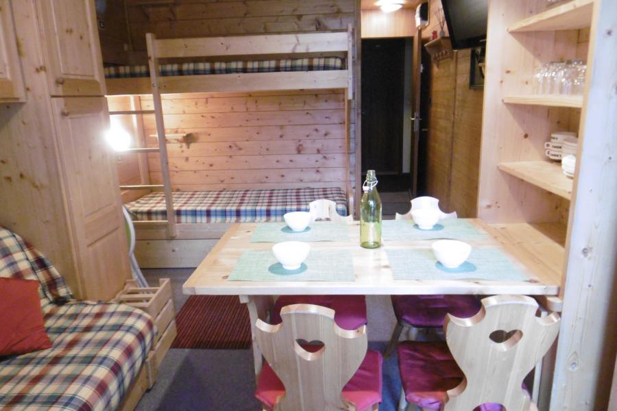 Vacances en montagne Studio 3 personnes (254) - Résidence les Hameaux I - La Plagne - Salle à manger