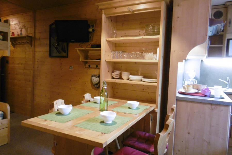 Vacances en montagne Studio 3 personnes (254) - Résidence les Hameaux I - La Plagne - Table
