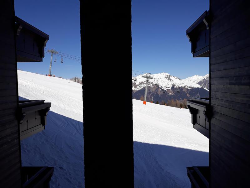 Vacances en montagne Appartement 4 pièces 8 personnes (B21) - Résidence les Hauts Bois - La Plagne - Plan