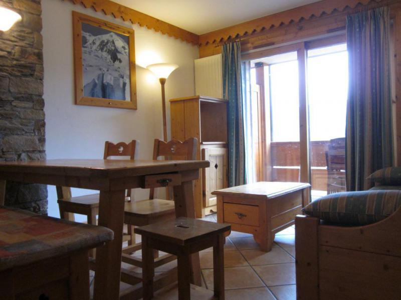 Vacances en montagne Appartement 3 pièces 6 personnes (25A) - Résidence les Hauts Bois - La Plagne - Table