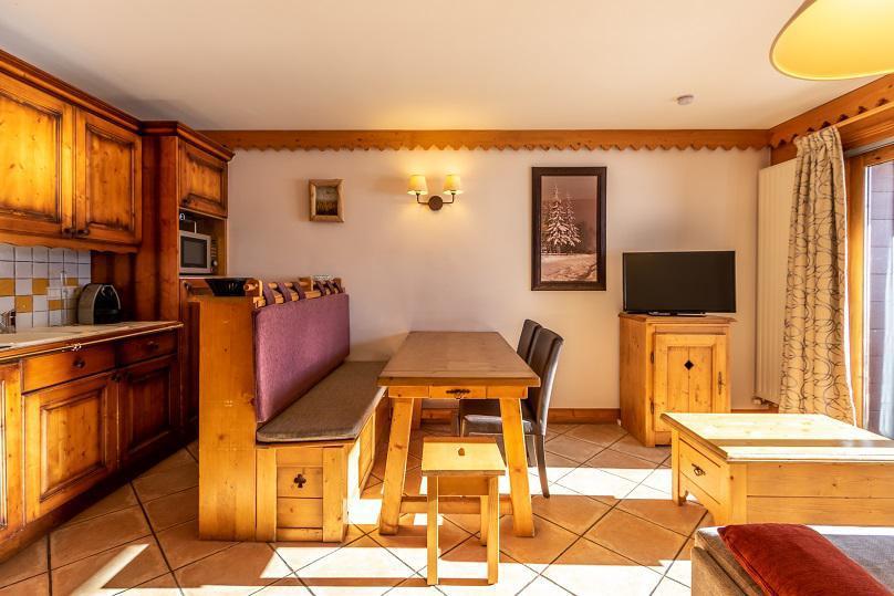 Vacances en montagne Appartement 3 pièces 6 personnes (A24) - Résidence les Hauts Bois - La Plagne - Logement