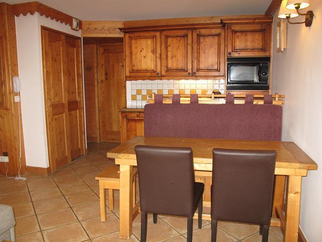 Vacances en montagne Appartement 3 pièces 6 personnes (A24) - Résidence les Hauts Bois - La Plagne - Kitchenette