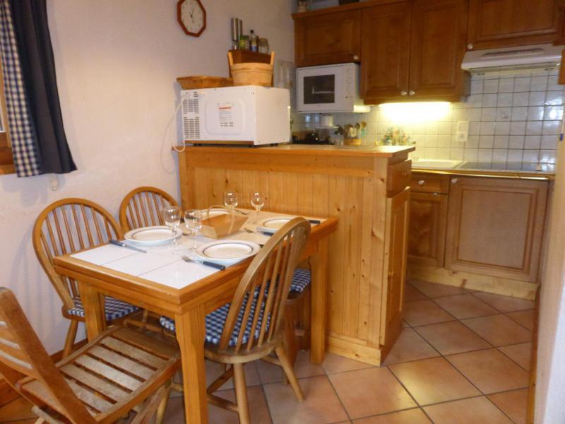 Urlaub in den Bergen 2-Zimmer-Appartment für 6 Personen (Vallot 10) - Résidence les Hauts de Chavants - Les Houches