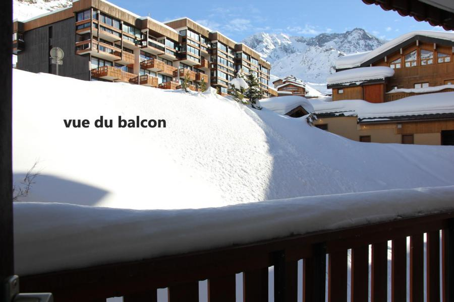 Holiday in mountain resort Studio 4 people (314) - Résidence les Hauts de la Vanoise - Val Thorens