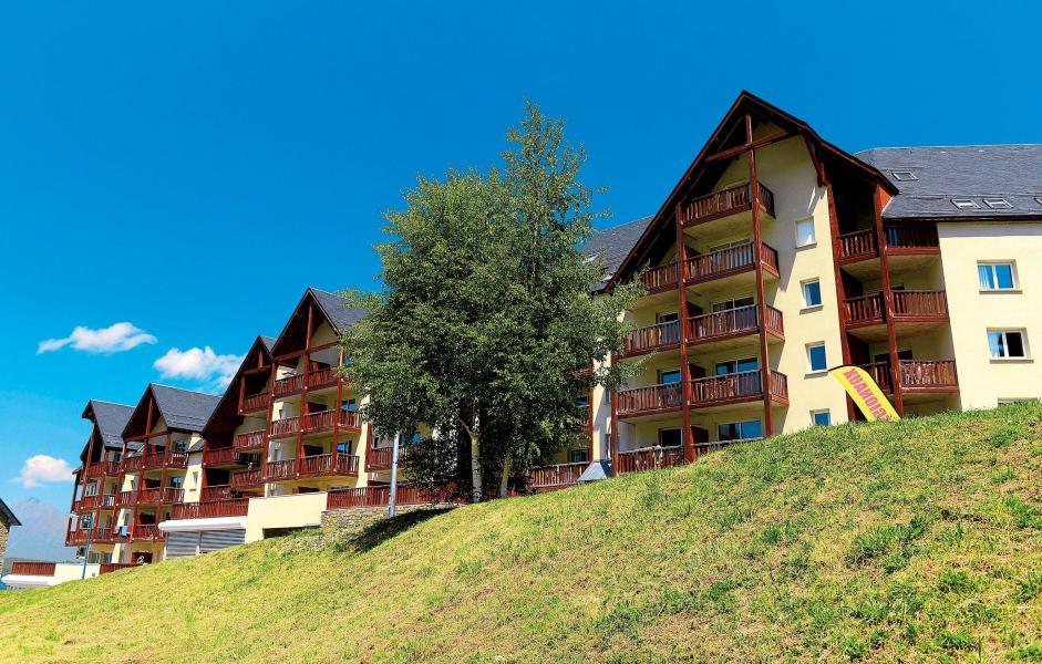 Location au ski Residence Les Hauts De Peyragudes - Peyragudes - Extérieur été