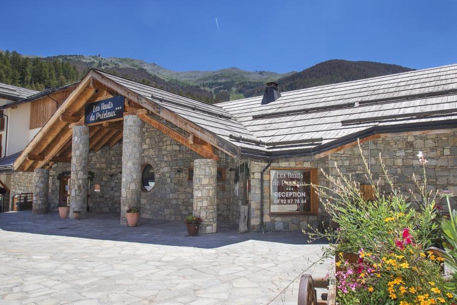 Location au ski Résidence les Hauts de Préclaux - Les Orres - Extérieur été