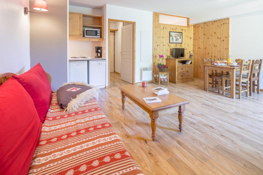 Vacances en montagne Résidence les Hauts de Préclaux - Les Orres - Canapé-lit