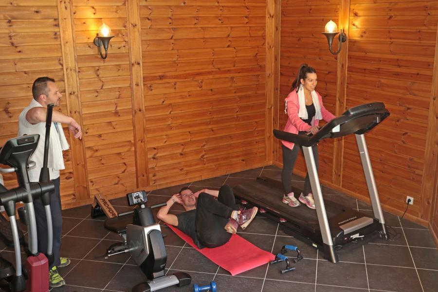 Vacances en montagne Résidence les Hauts de Préclaux - Les Orres - Espace fitness