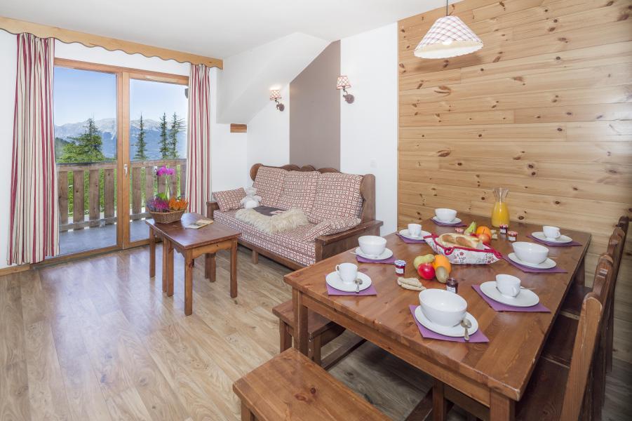 Urlaub in den Bergen Résidence les Hauts de Préclaux - Les Orres - Tisch
