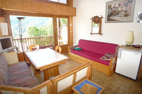 Vacaciones en montaña Estudio mezzanine para 6 personas (3P11) - Résidence les Hauts de Trainant - Samoëns - Alojamiento