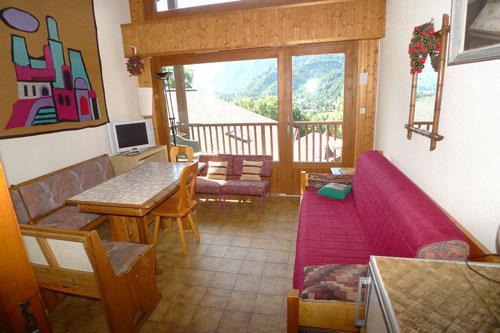 Vacaciones en montaña Estudio mezzanine para 6 personas (3P11) - Résidence les Hauts de Trainant - Samoëns - Estancia