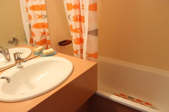 Vacances en montagne Studio 2 personnes (402) - Résidence les Hauts de Vanoise - Val Thorens - Salle de bains