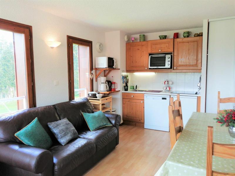 Wakacje w górach Apartament 4 pokojowy 6 osób (26) - Résidence les Hauts des Esserts - Morillon - Zakwaterowanie