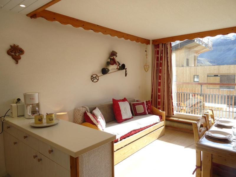 Vacances en montagne Studio cabine 4 personnes (1) - Résidence les Hauts Lieux - Tignes - Logement