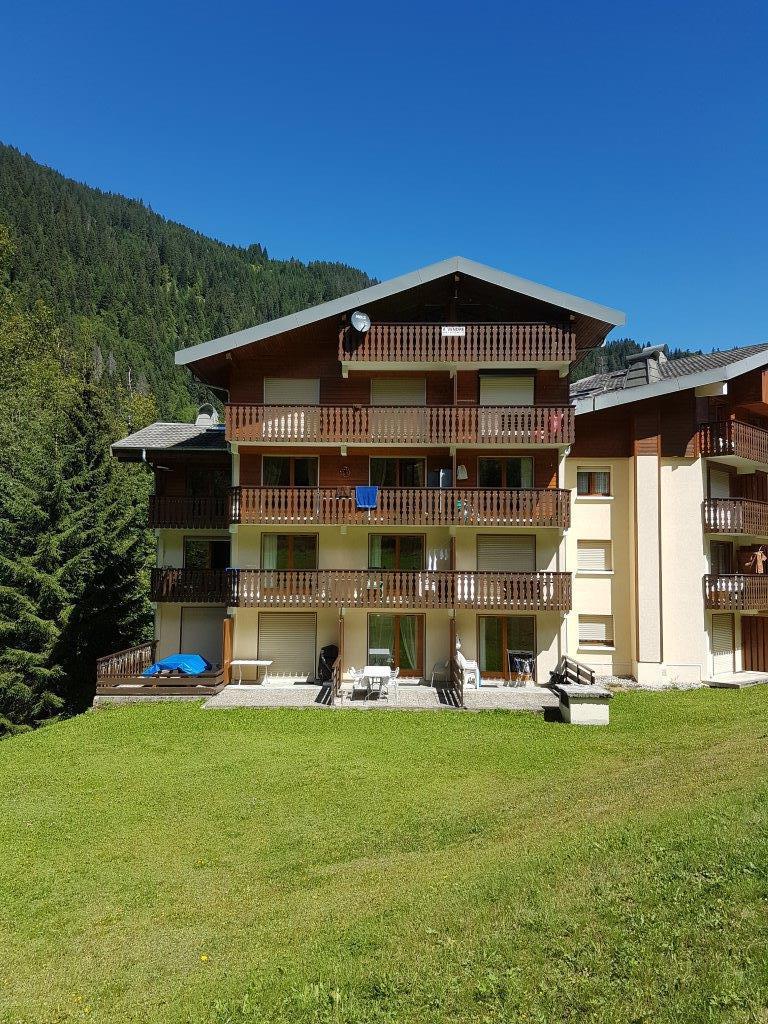 Vacaciones en montaña Apartamento 2 piezas para 5 personas (IRI006) - Résidence les Iris - Châtel - Verano