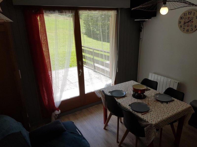 Vacaciones en montaña Apartamento 2 piezas para 5 personas (IRI006) - Résidence les Iris - Châtel - Mesa