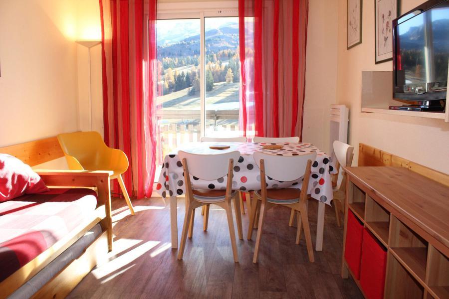 Vacaciones en montaña Apartamento 2 piezas para 5 personas (IS0705X) - Résidence les Issarts  - Superdévoluy - Mesa