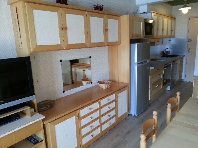 Vacaciones en montaña Apartamento 2 piezas para 8 personas (IS0212X) - Résidence les Issarts  - Superdévoluy - TV