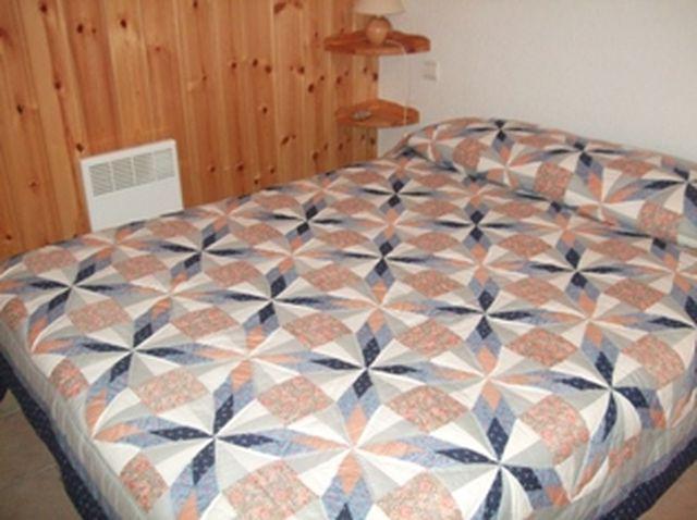 Holiday in mountain resort 2 room apartment sleeping corner 6 people (698) - Résidence les Jardins Alpins - Saint Gervais - Bedroom