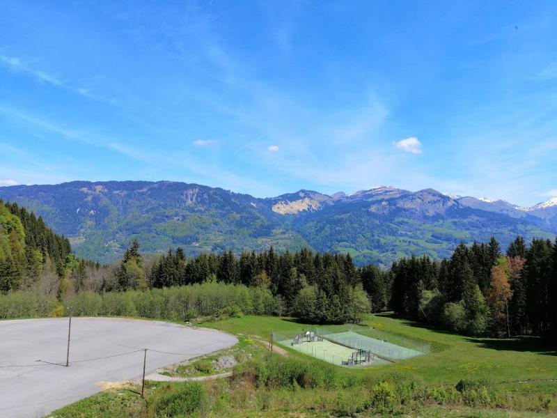 Vacances en montagne Appartement duplex 4 pièces 8 personnes (22) - Résidence les Jardins Alpins - Morillon - Extérieur été