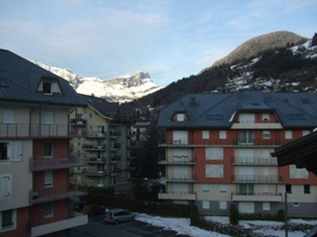 Holiday in mountain resort 2 room apartment sleeping corner 6 people (698) - Résidence les Jardins Alpins - Saint Gervais
