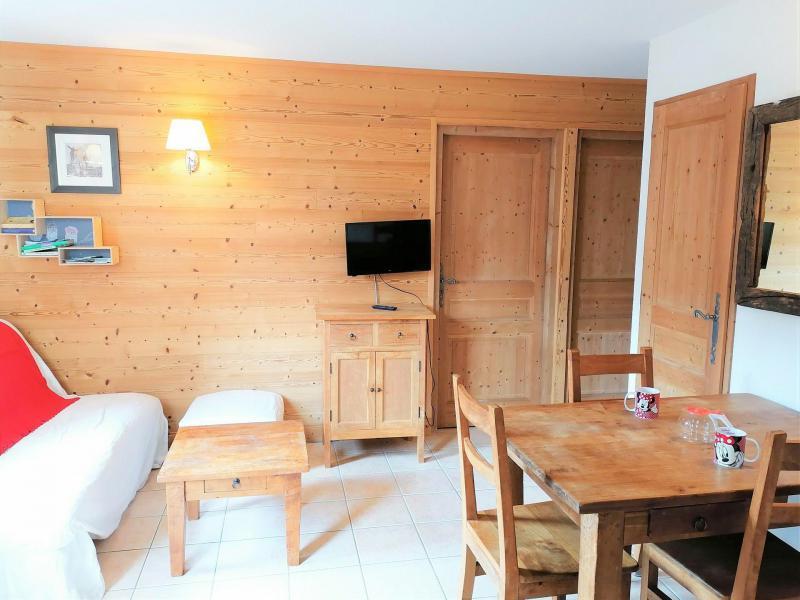 Vacances en montagne Appartement 3 pièces 6 personnes (JABB06) - Résidence les Jardins Alpins - Morillon - Séjour