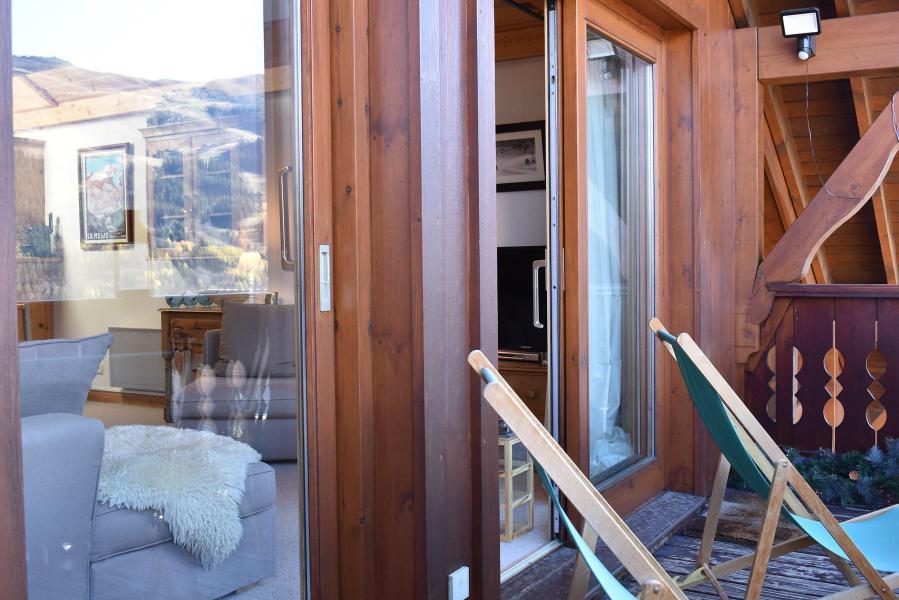 Holiday in mountain resort 4 room duplex apartment 8 people (C18) - Résidence les Jardins d'Hiver - Méribel
