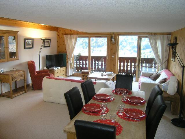 Vacances en montagne Appartement duplex 4 pièces 8 personnes (C18) - Résidence les Jardins d'Hiver - Méribel - Séjour