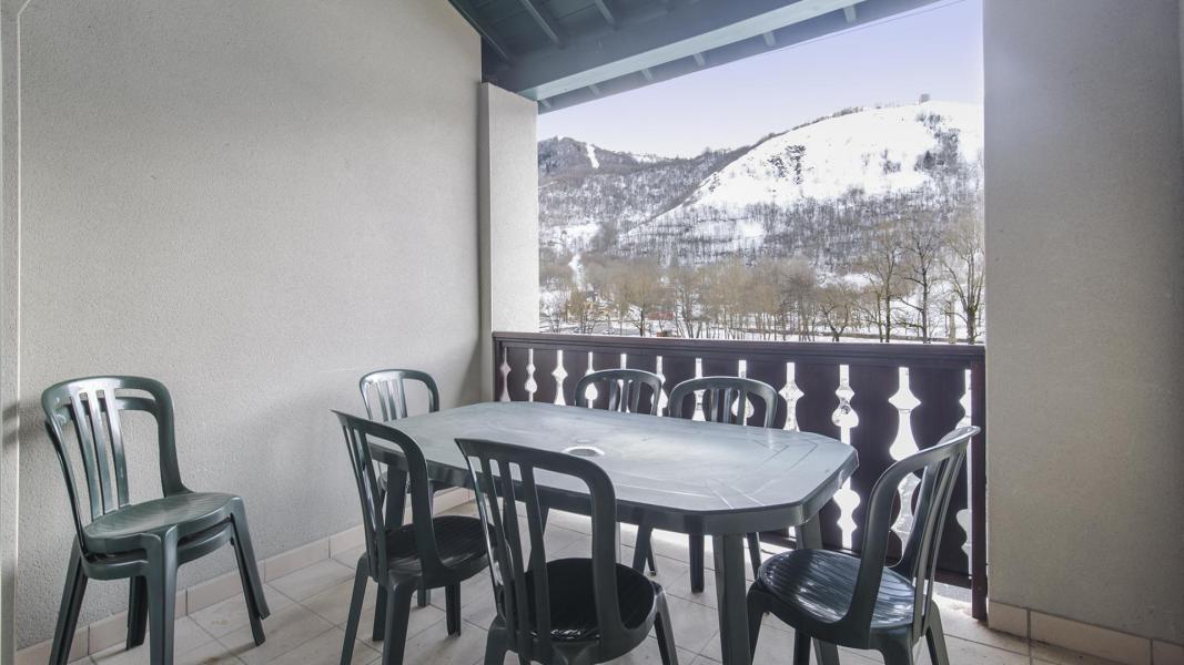 Urlaub in den Bergen Résidence les Jardins de Balnéa - Peyragudes - Balkon