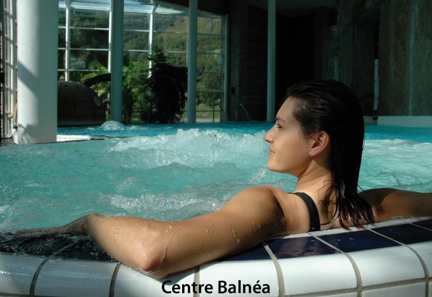 Urlaub in den Bergen Résidence les Jardins de Balnéa - Peyragudes - Whirlpool