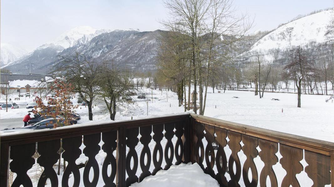 Vakantie in de bergen Résidence les Jardins de Balnéa - Peyragudes - Woonkamer