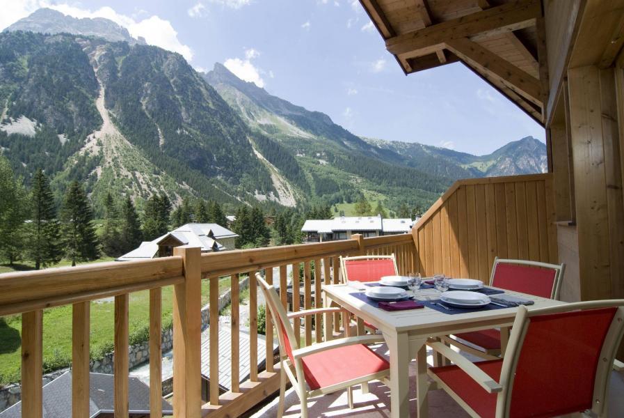 Urlaub in den Bergen Résidence les Jardins de la Vanoise - Pralognan-la-Vanoise - Balkon