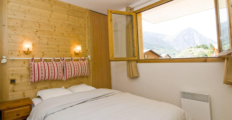 Urlaub in den Bergen Résidence les Jardins de la Vanoise - Pralognan-la-Vanoise - Doppelbett