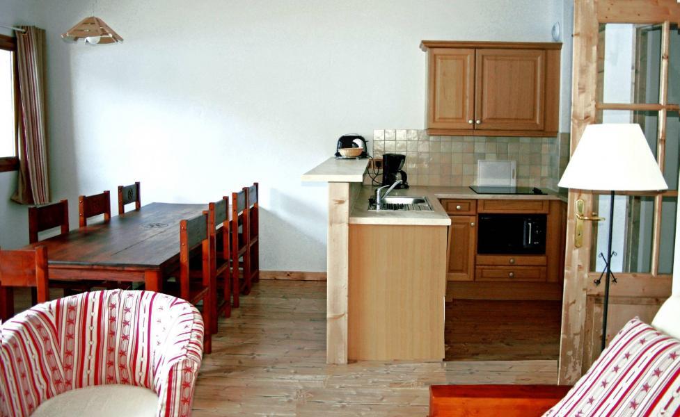 Urlaub in den Bergen Résidence les Jardins de la Vanoise - Pralognan-la-Vanoise - Kleines Wohnzimmer