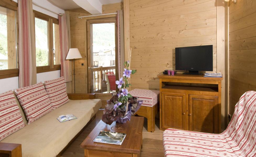 Holiday in mountain resort Résidence les Jardins de la Vanoise - Pralognan-la-Vanoise - Living area