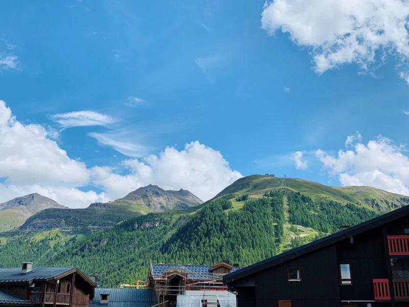 Аренда на лыжном курорте Апартаменты 2 комнат 4 чел. (32) - Résidence les Jardins de Val - Val d'Isère - летом под открытым небом