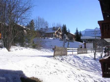Vacances en montagne Appartement 3 pièces 6 personnes (B7) - Résidence les Jardins du Morel - Méribel