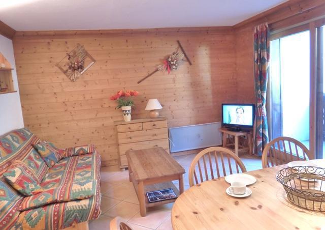 Vacances en montagne Appartement 3 pièces 6 personnes (B7) - Résidence les Jardins du Morel - Méribel - Séjour