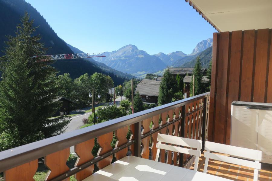 Vacances en montagne Studio coin montagne 4 personnes (C11) - Résidence les Jonquilles - Châtel - Banquette-lit