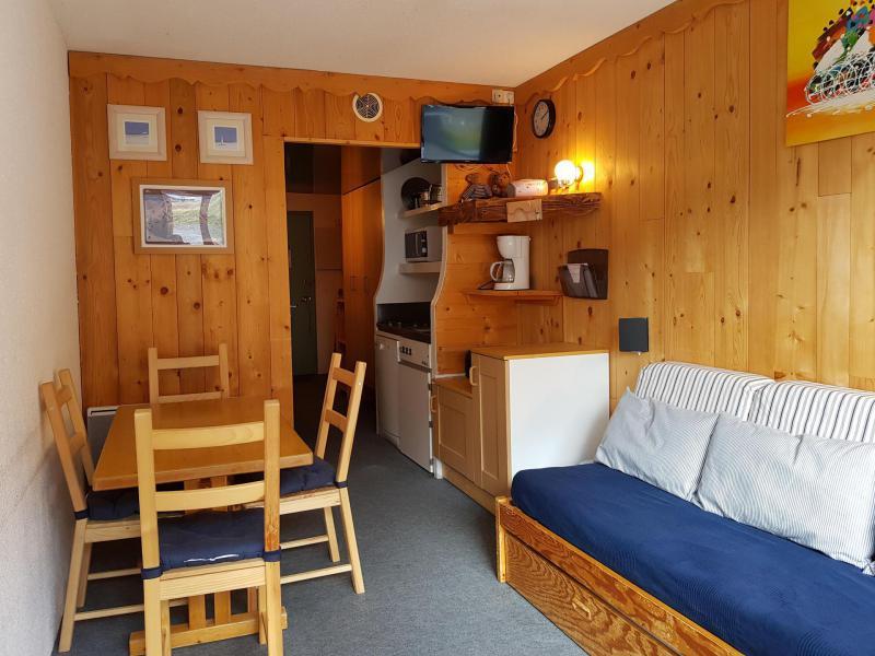 Vacances en montagne Studio coin montagne 3 personnes (203) - Résidence les Lanchettes - Les Arcs - Séjour