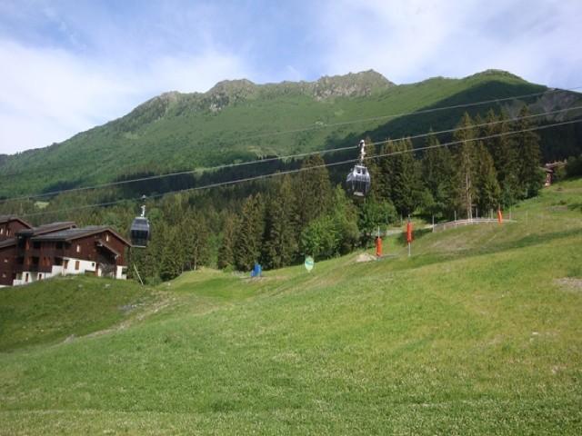 Location au ski Appartement 2 pièces 6 personnes (040) - Residence Les Lauzes - Valmorel - Extérieur été