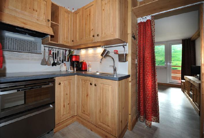 Vacances en montagne Appartement 2 pièces 5 personnes (D3) - Résidence les Lauzes - Les Menuires