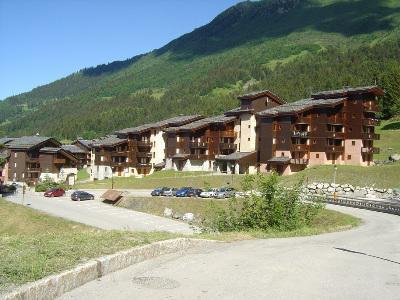 Location au ski Résidence les Lauzes - Valmorel - Extérieur été