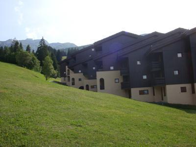 Location au ski Appartement 2 pièces 5 personnes (032) - Résidence les Lauzes - Valmorel - Extérieur été