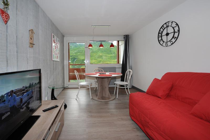 Vacances en montagne Appartement 2 pièces 4 personnes (8) - Résidence les Lauzes - Les Menuires - Tv